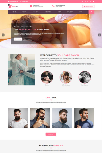 Website template 73392