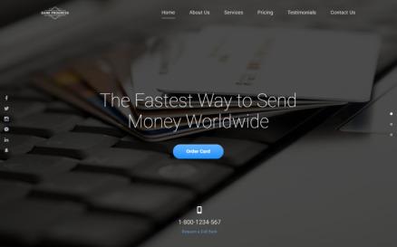 Bank Progress - Solid Bank HTML Landing Page Template
