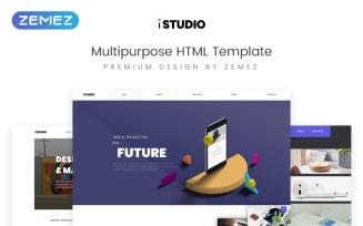 iStudio - Digital Production Multipurpose HTML Website Template