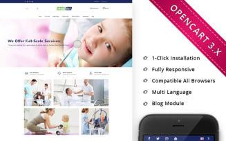 Medifest - Medical Shop Responsive OpenCart Template