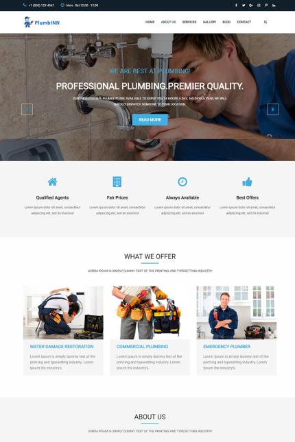 Website template 73410