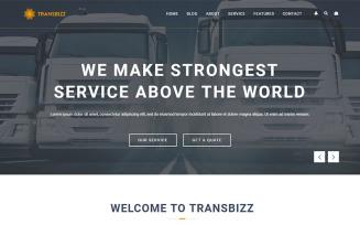 TransBizz - Transport, Logistic & Warehouse HTML5 Template