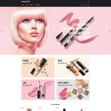 Preview image of Paletto - Cosmetic Store