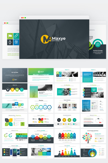 Website template 73427