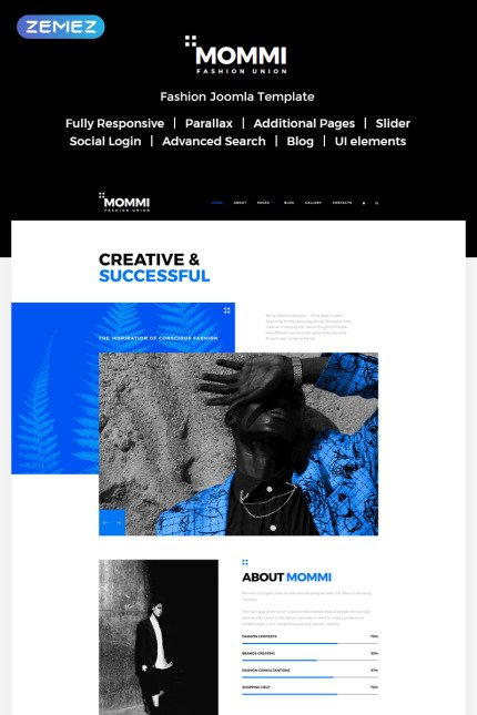 Website template 73428