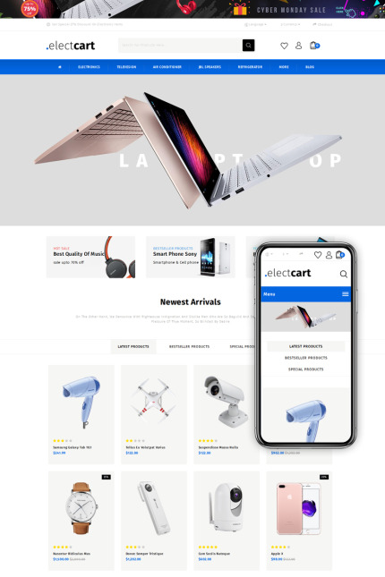 Website template 73431