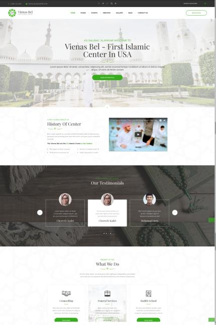Website template 73432