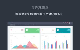 Upcube - Responsive Web App Kit