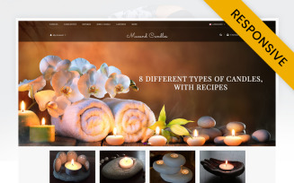 Macand Candles Store OpenCart Template