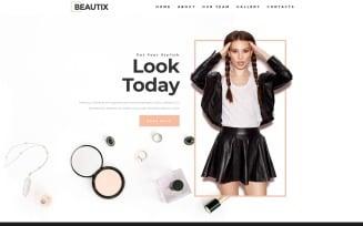 Beautix - Beauty Elementor WordPress Landing Page Template