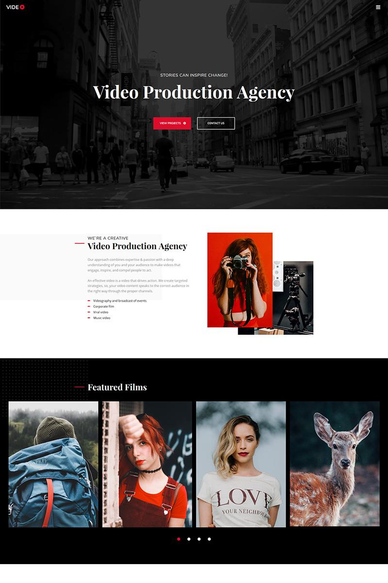 """""""Videographer"""" modèle de Galeries Photo adaptatif #73429"""