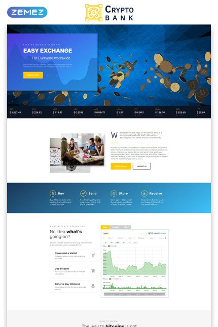Website Design Template 73512 - blockchain consulting financial business personal audit accounting agency industry technical corporate services company technology bank investment