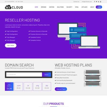 Купить  пофессиональные Bootstrap и html шаблоны. Купить шаблон #73539 и создать сайт.