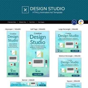 Купить  пофессиональные Animated Banners. Купить шаблон #73542 и создать сайт.