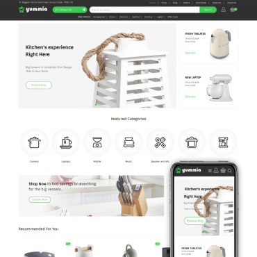 Купить  пофессиональные WooCommerce шаблоны. Купить шаблон #73547 и создать сайт.
