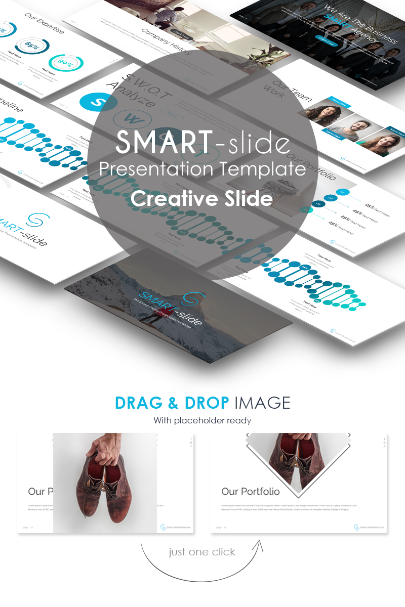 SMART-slide PowerPoint Template