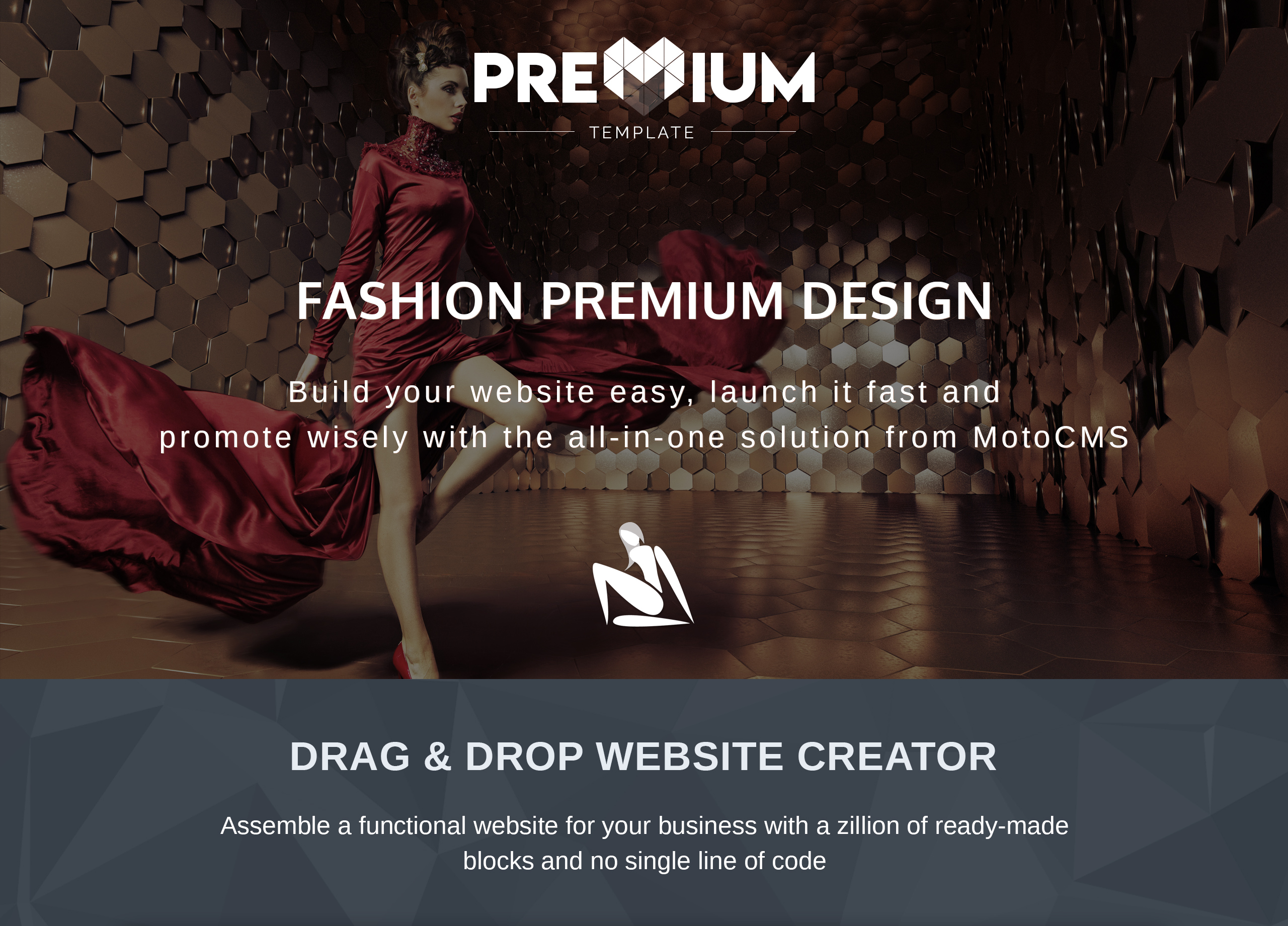 Website Design Template 73584 - week women outfit trends clothing booklook lookbookstore