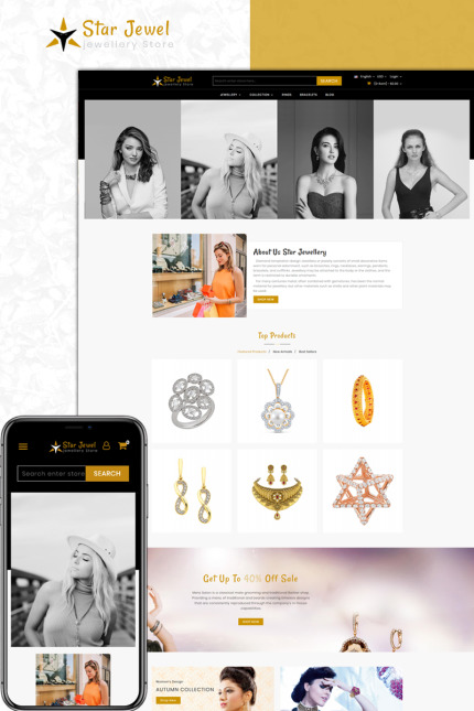 Website Design Template 73589 - accessories prestashop theme fashion