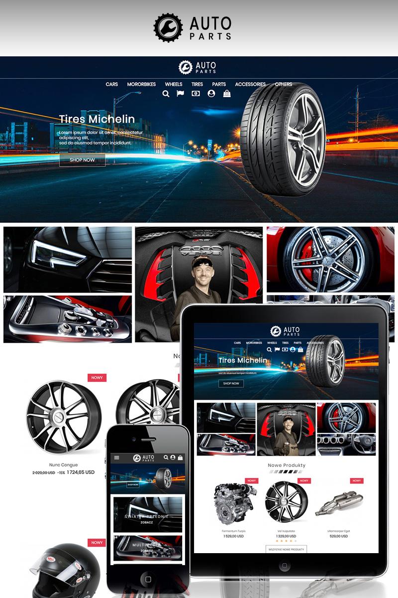 """Auto Moto Parts"" thème PrestaShop adaptatif #73541"