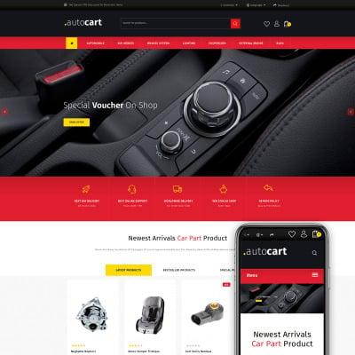AutoCart - Spare Parts Store OpenCart Template #73560
