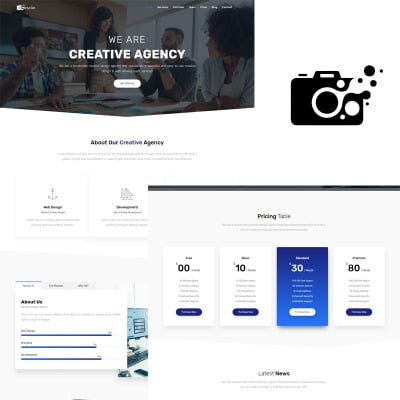 555 Landing Page Templates | Responsive Landing Pages