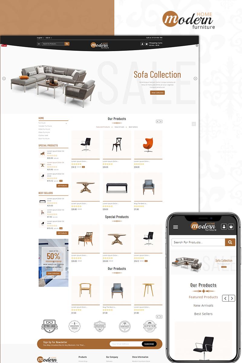 Modern - Furniture Store PrestaShop Theme