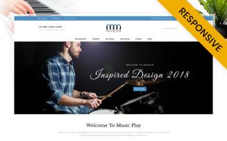 Musean - Musical Store OpenCart Template