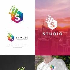 Business logos studio s letter logo template 73523 flashek Gallery