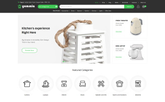 Yummia - Kitchen Multipurpose WooCommerce Theme