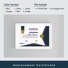 Zertifikat-Vorlagen | Auszeichnungs-Templates | TemplateMonster
