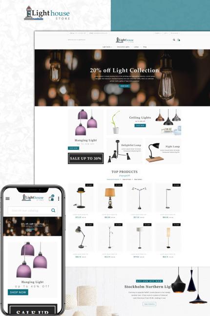Website Design Template 73606 - housedecoration prestashop theme fashion