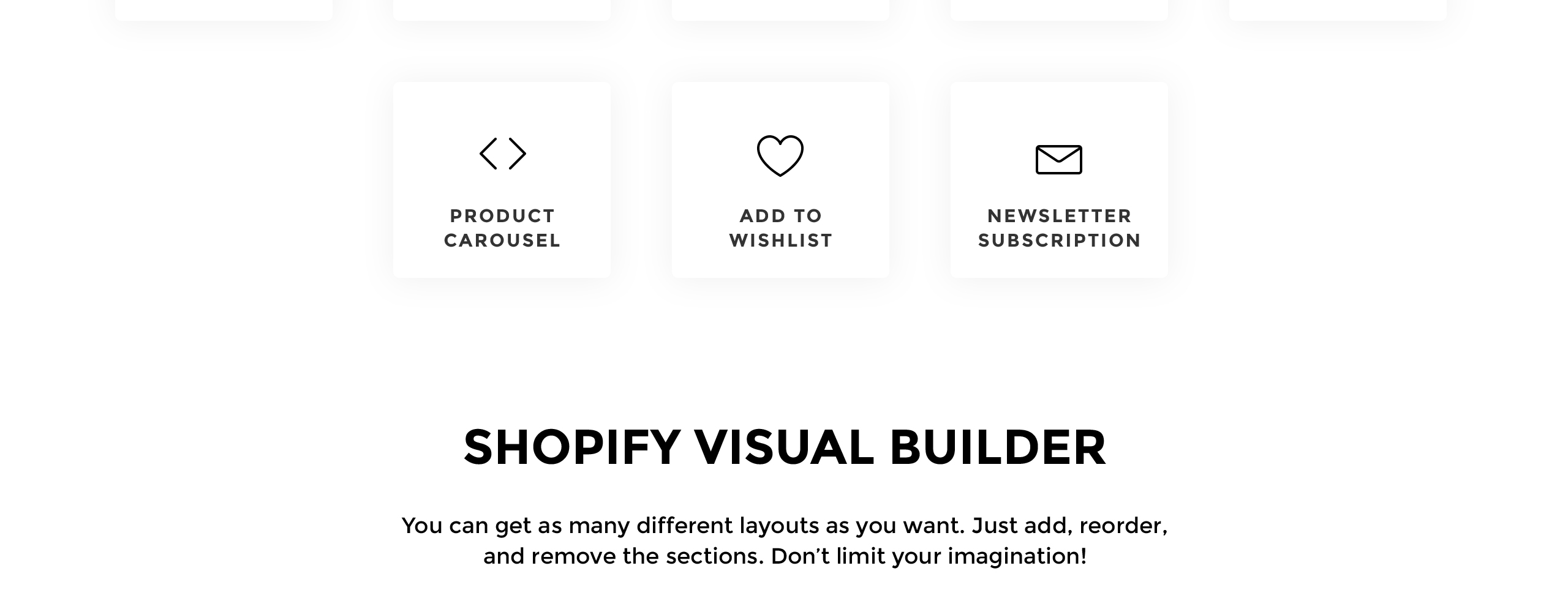 Website Design Template 73610 - shopify