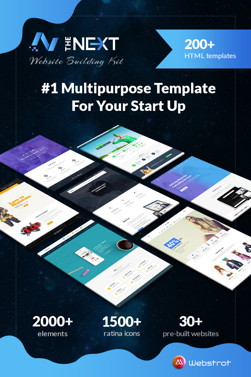 Website Design Template 73620 - bootstrap responsive clean corporate creative portfolio website shop business seo webstrot store sports builder html
