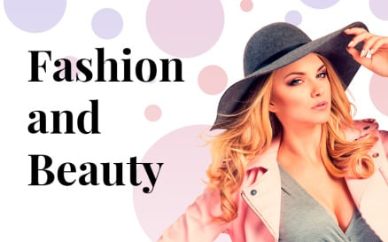 Beauty and Fashion PowerPoint Template