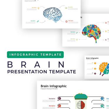 Preview image of Brain Presentation -  Infographic