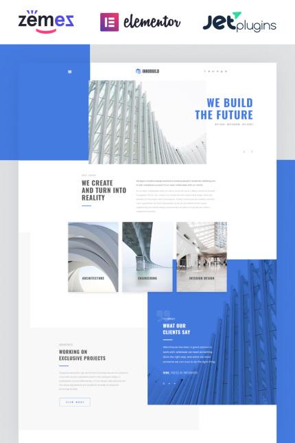 Website Design Template 73628 - innovation industry gallery partners creative