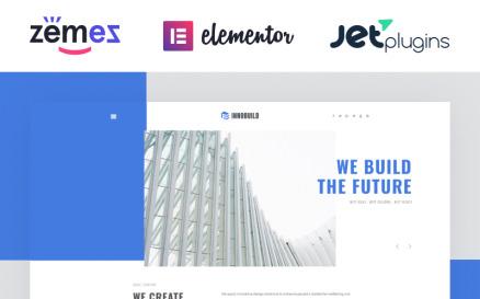 Innobuild - Solid And Reliable Architecture Design WordPress Theme