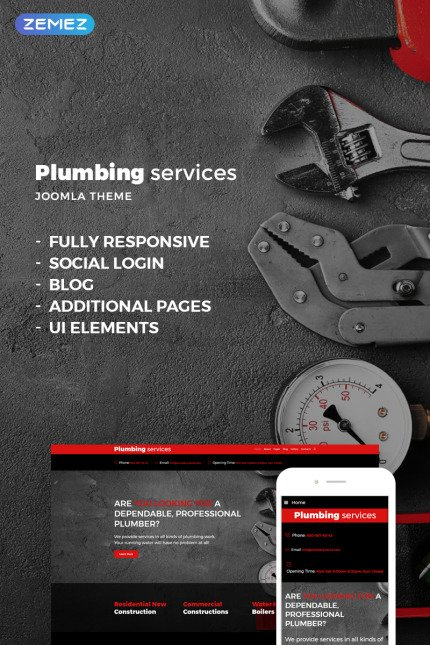 Website Design Template 73630 - servicesundefined