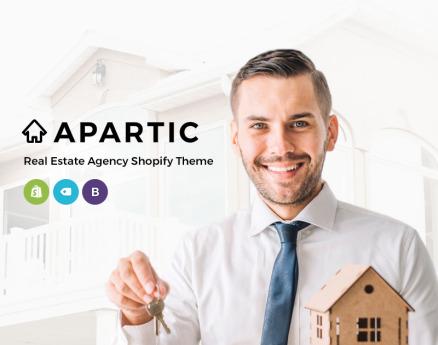 Apartic Real Estate Shopify Theme