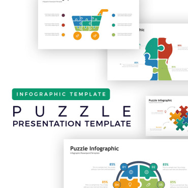 Preview image of Puzzle Presentation - Infographic
