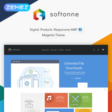 Preview image of Softonne - Digital Products