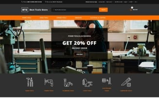 Best Tools Store OpenCart Template