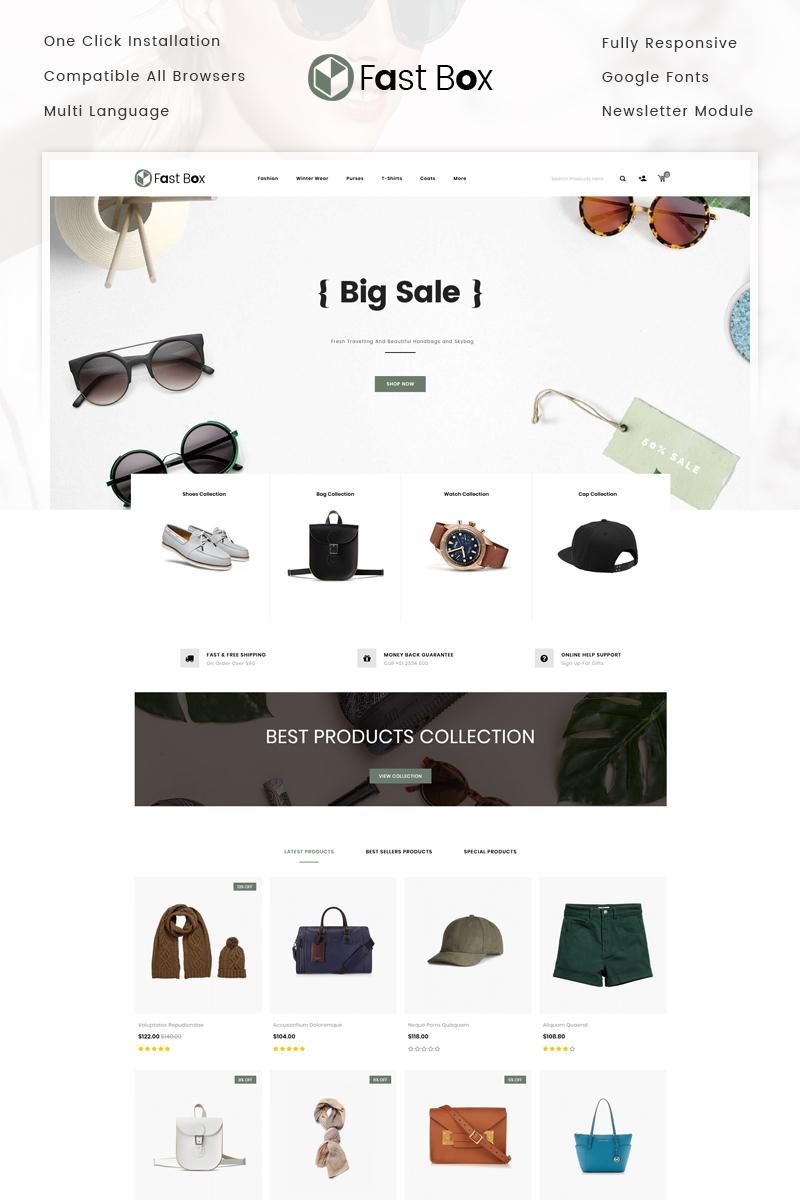 Website Template #73681 Fashion Bag Shoes Custom Website