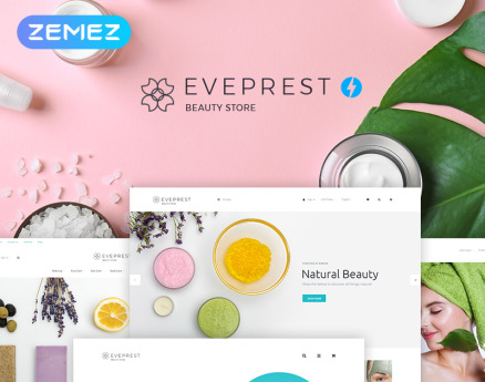 Eveprest Beauty 1.7 - Beauty Store PrestaShop Theme