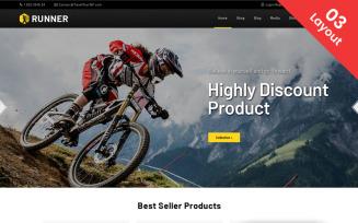 Runner - Multipurpose WooCommerce Theme