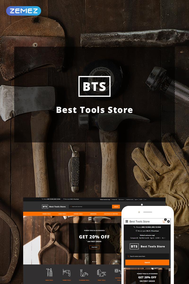 """Best Tools Store"" - адаптивний OpenCart шаблон №73651"