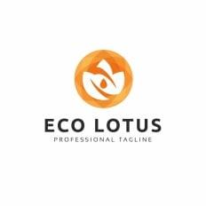 Business logos eco lotus logo theme 73609 accmission Gallery