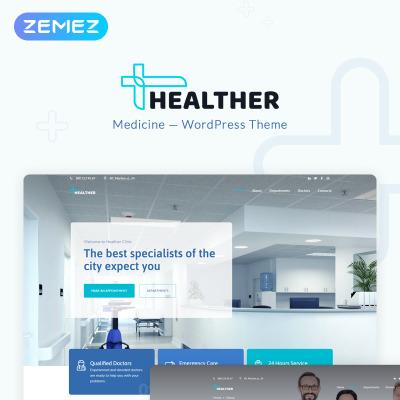 91+ Best Medical WordPress Themes 2018 | TemplateMonster