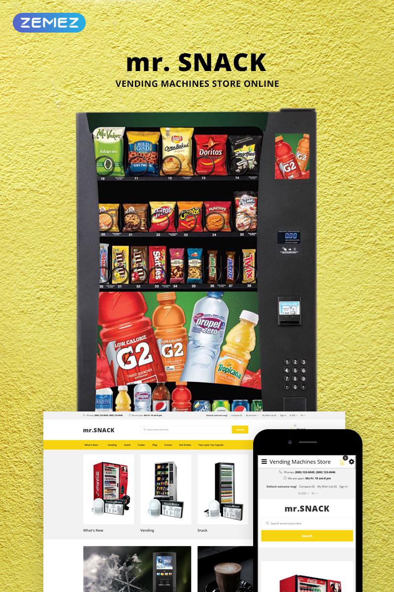 mr.Snack - Vending Machines Store №73699