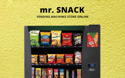 mr.Snack - Vending Machines Store OpenCart Template